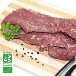Hampe BIO par 2 par la Ferme Bichet, viande de boeuf charolais bio à la ferme traditionnelle, domaine et prairies naturelles, livraison fraîcheur