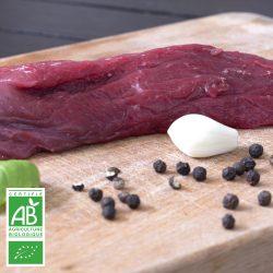Onglets BIO par 2 par la Ferme Bichet, viande de boeuf charolais bio à la ferme traditionnelle, domaine et prairies naturelles, livraison fraîcheur.