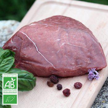 Rond de Paris BIO par la Ferme Bichet, viande de boeuf charolais bio à la ferme traditionnelle, domaine et prairies naturelles, livraison fraîcheur.