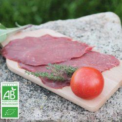 Colis spécial beefsteacks BIO par la Ferme Bichet, viande de boeuf charolais bio à la ferme traditionnelle, domaine et prairies naturelles, livraison fraîcheur.